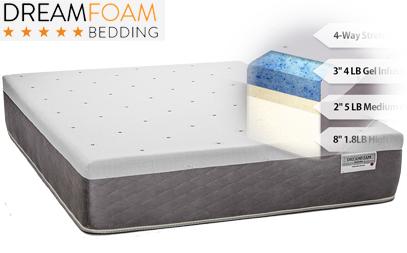 dreamfoam bedding ultimate dreams