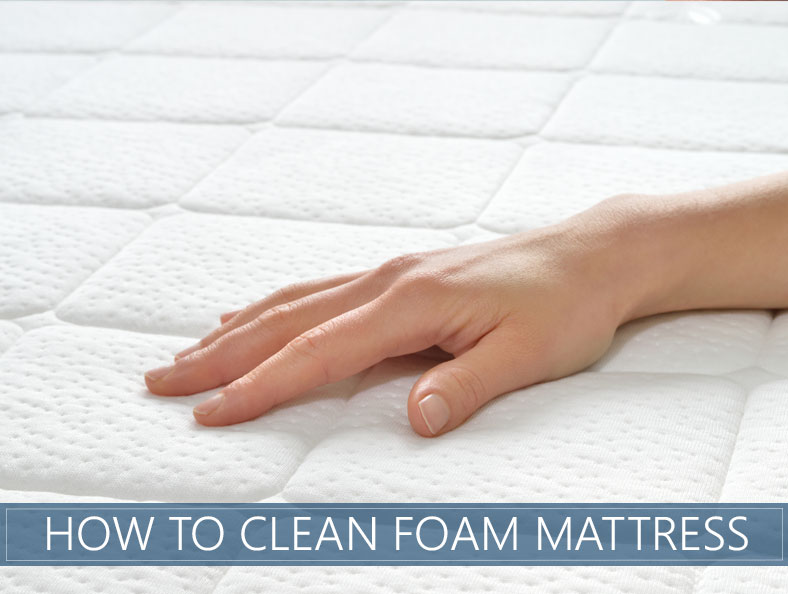 How To Clean Foam Mattress Topper In 3 Easy Steps The