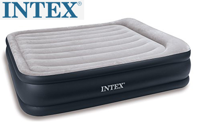 intex deluxe pillow rest raised airbed product image