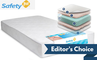 image of safety 1st heavenly dreams - Crib Mattress Reviews