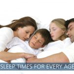 recommended sleep times for every age