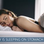 reasons why sleeping on stomach is bad