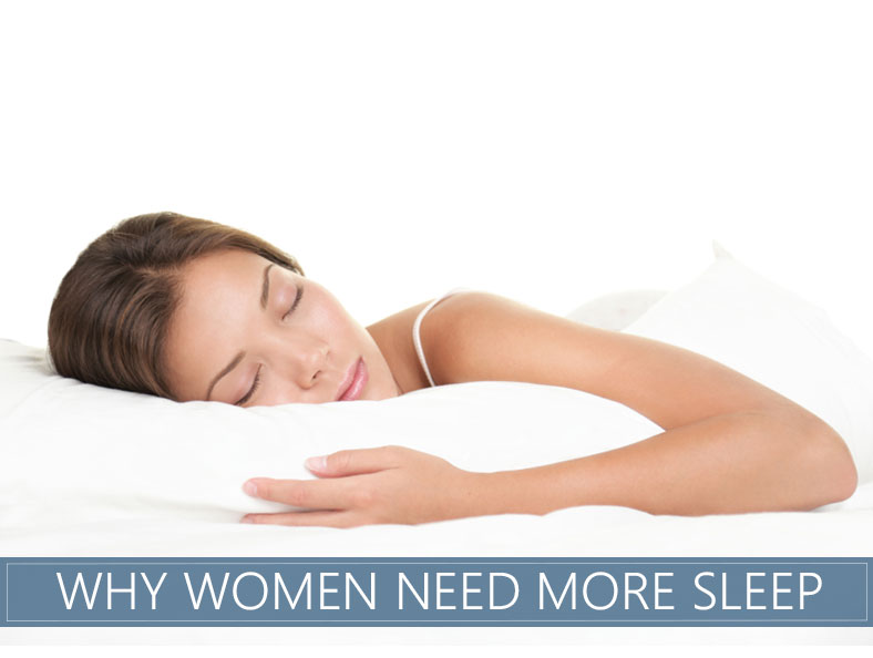 why women need more sleep