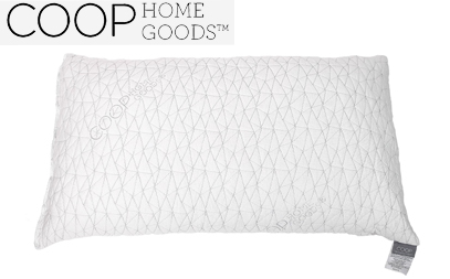 coop home goods shredded memory foam