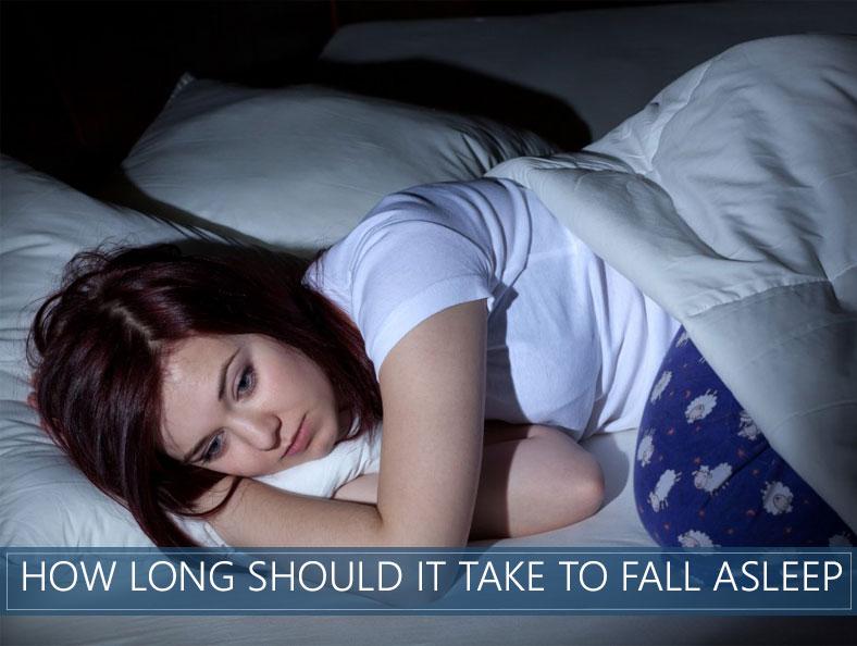 how long should it take to fall asleep