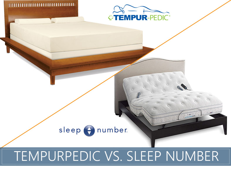 tempurpedic vs. sleep number | sleep advisor 100% unbiased evaluation