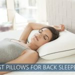 our recommended pillows designed for back sleeping
