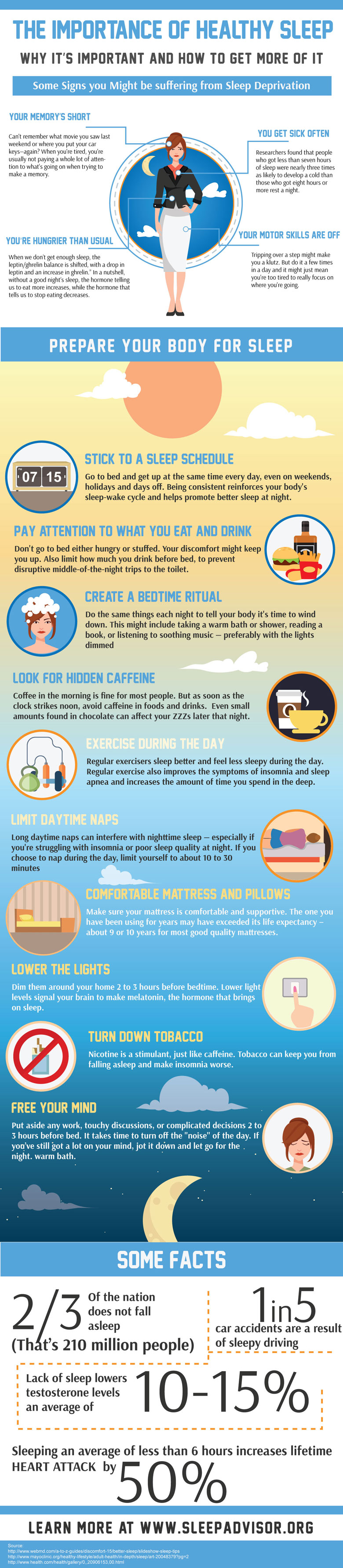 The importance of healthy sleep