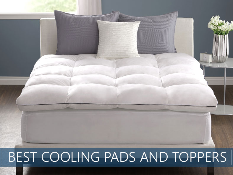 Top 7 Picks Best Cooling Mattress Toppers Pad Reviews March 2019