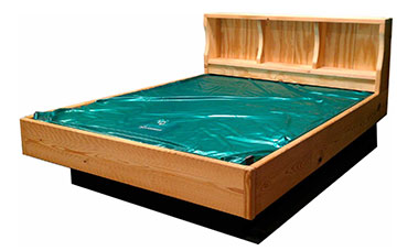 picture of hardside waterbed
