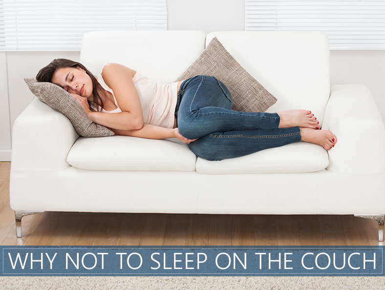 sleeping on the couch 5 Reasons Why It's A Bad Idea To Fall Asleep On The Couch sleeping on the couch