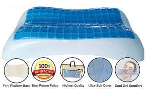 fomi cooling gel memory foam pillow