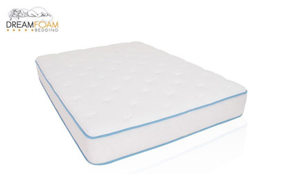 image of the Dreamfoam Arctic Dreams bed