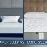 Amerisleep vs Tempurpedic Comparison