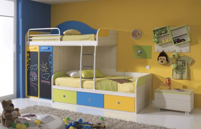Superbe Bunk Beds For Toddlers In A Room