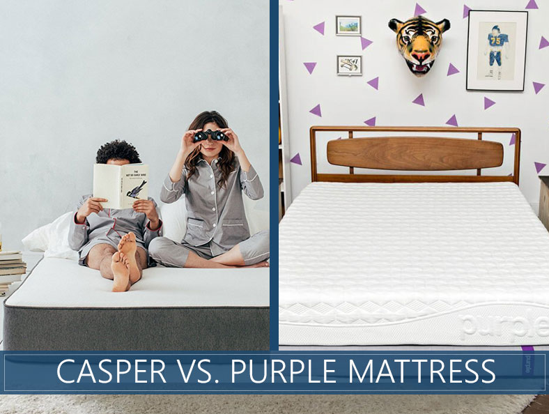 Purple vs. Casper Mattress Comparison - Which One Should You Choose?
