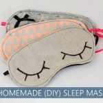 Homemade (DIY) Sleep Mask - Photo Credit: DIY With Love