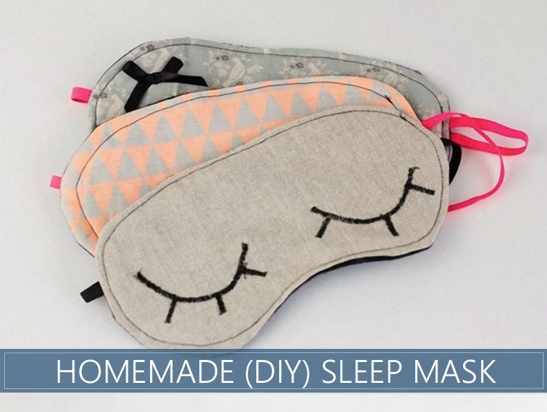 fc15b88a2 How to Make a DIY Sleep Mask - Complete Step by Step Instructions