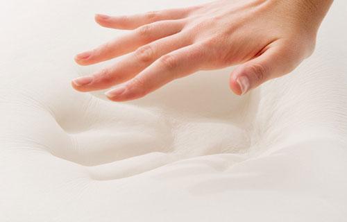 memory foam close-up image