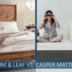 beds compared: loom & leaf and casper