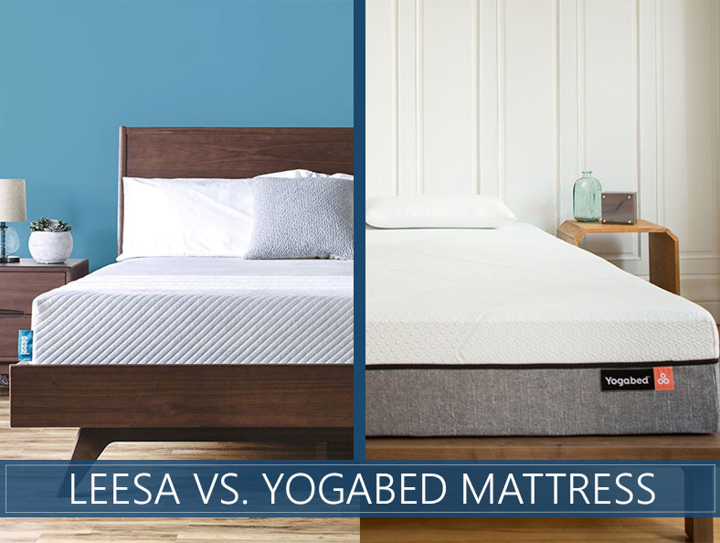 beds compared: yogabed and leesa