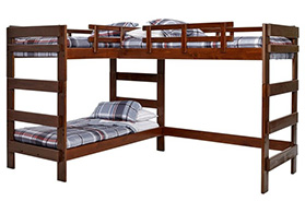 l-shaped bunk