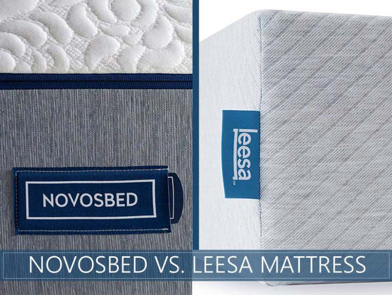 beds compared novosbed and leesa