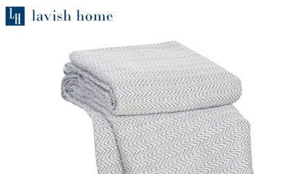 lavish home chevron product image