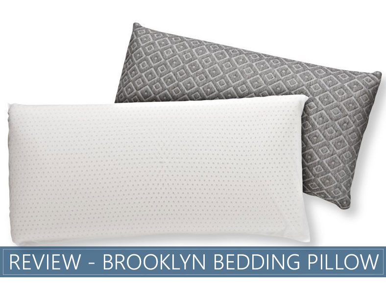our overview of Brooklyn Bedding pillow - #bestpillowever