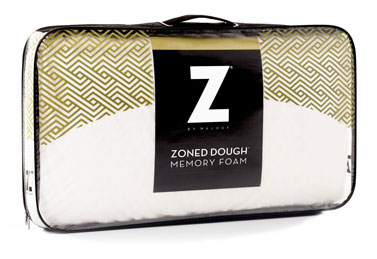 Zoned Dough Memory Foam