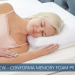 overview of conforma memory foam pillow