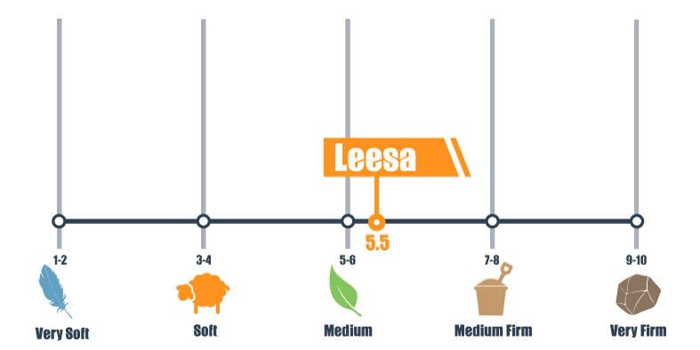 firmness scale for leesa