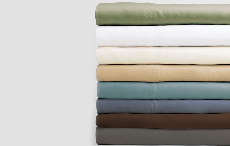 material colors of cariloha resort bamboo sheets