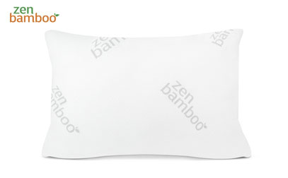 product image of zen bamboo gel pillow