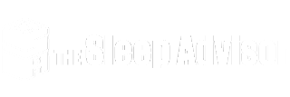Sleep advisor white logo