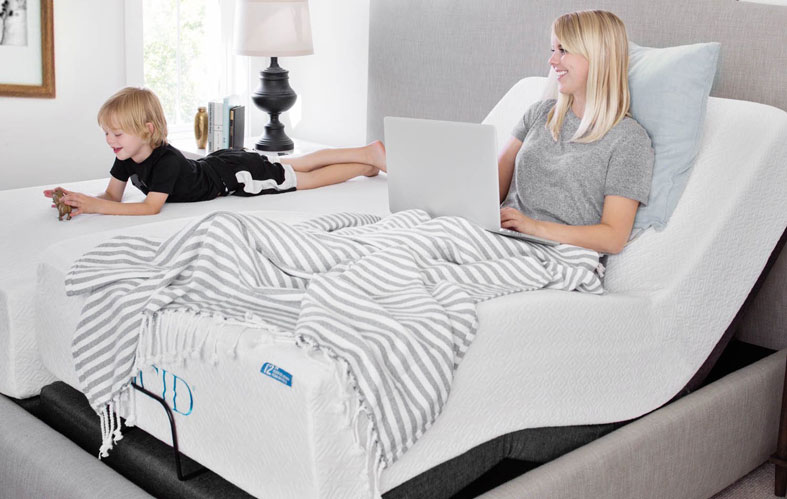 adjustable bed image