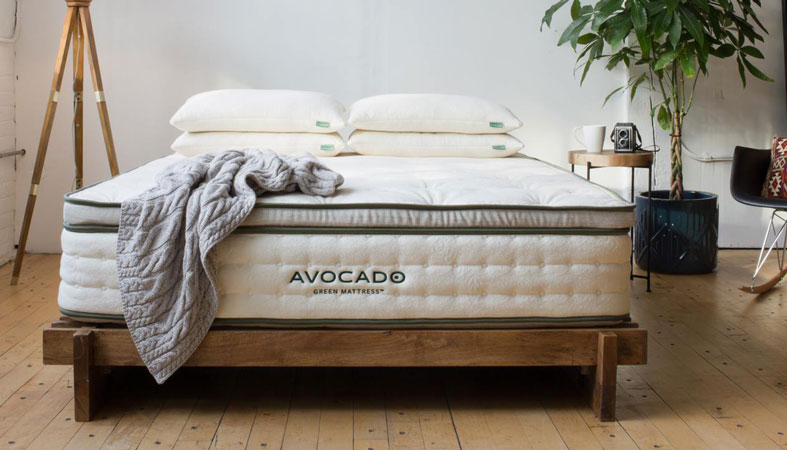 avocado green bed product image