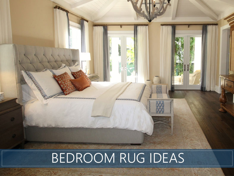 Bedroom Rug Ideas - Tips for Choosing the Best Model and ...