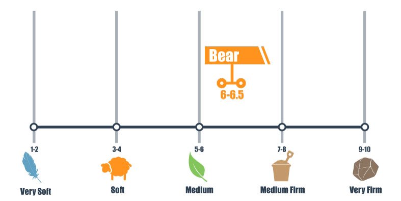 firmness scale for bear bed