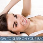 how to properly sleep on your back