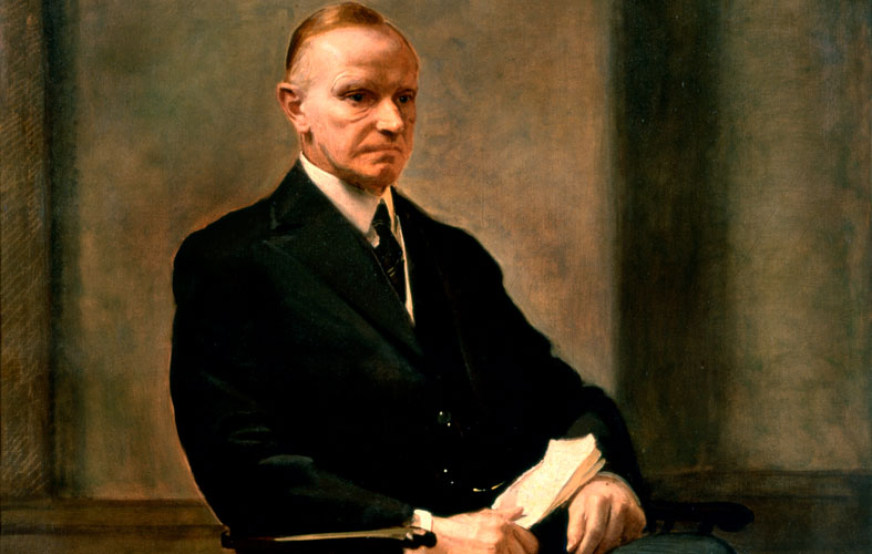 image of calvin coolidge