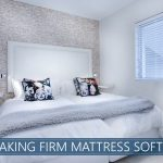 making firm mattress softer