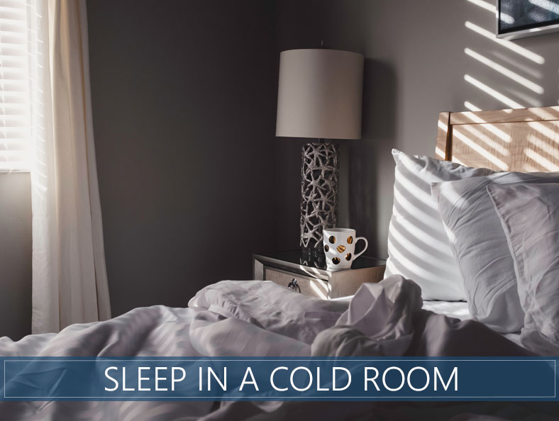 our advices for sleep in a cold room
