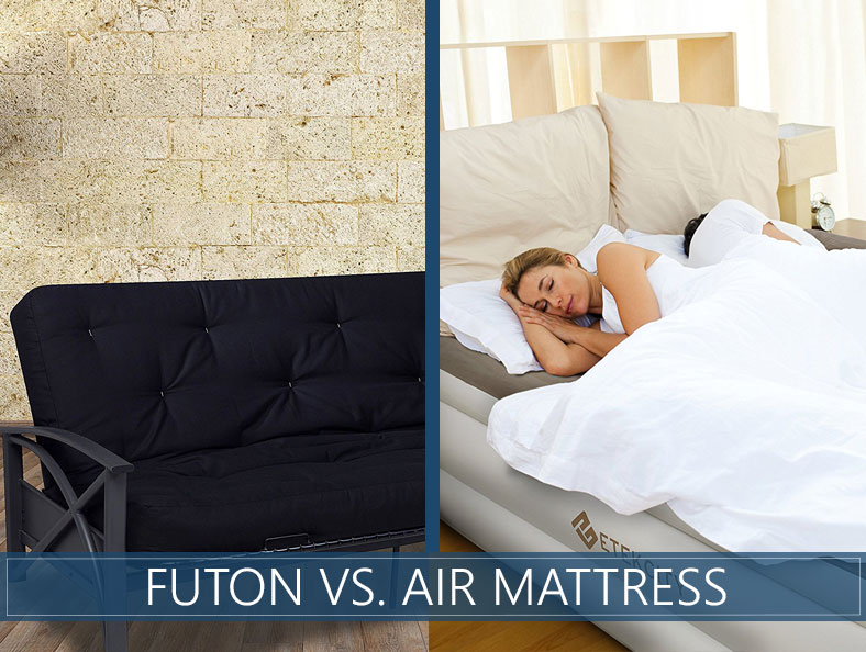 our futon and air bed comparison