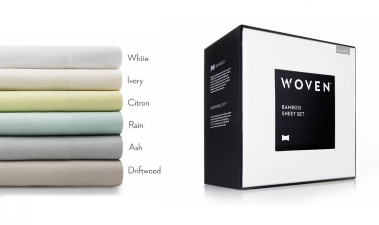 Malouf Woven Sheet color options