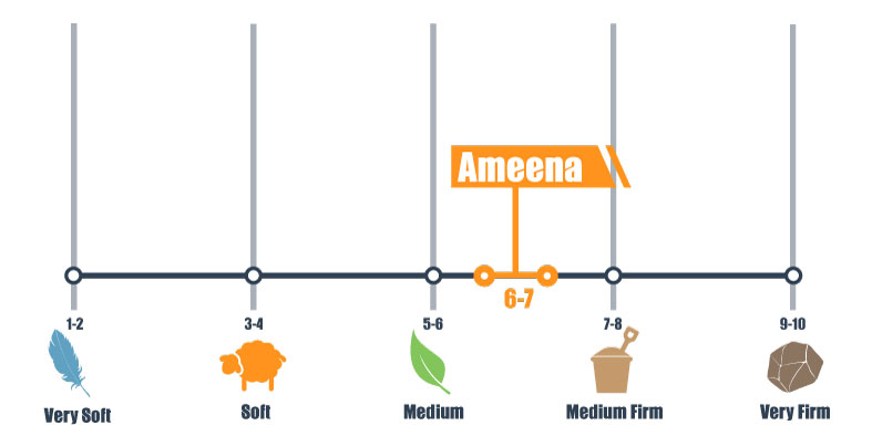 firmness scale for ameena