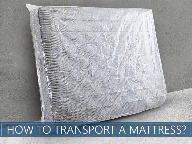 how to transport mattress