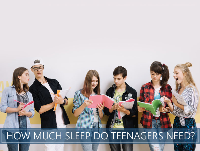 how much sleep do teenagers need