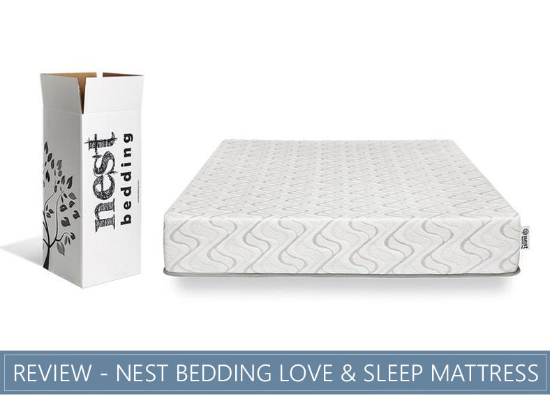 overview of love and sleep bed by nest bedding