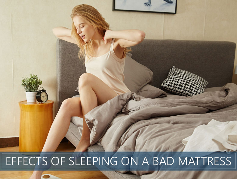 what are the results of sleeping on a bad mattress